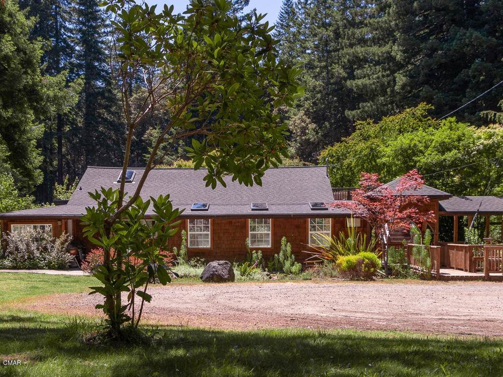 Single Family Homes for Sale at 40701 Comptche Ukiah Road Mendocino, California 95460 United States