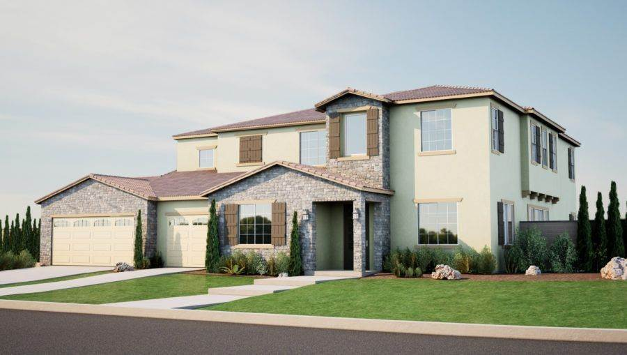 Single Family for Sale at Pacific Galleria - Residence Three 26020 Waldon Rd MENIFEE, CALIFORNIA 92584 UNITED STATES
