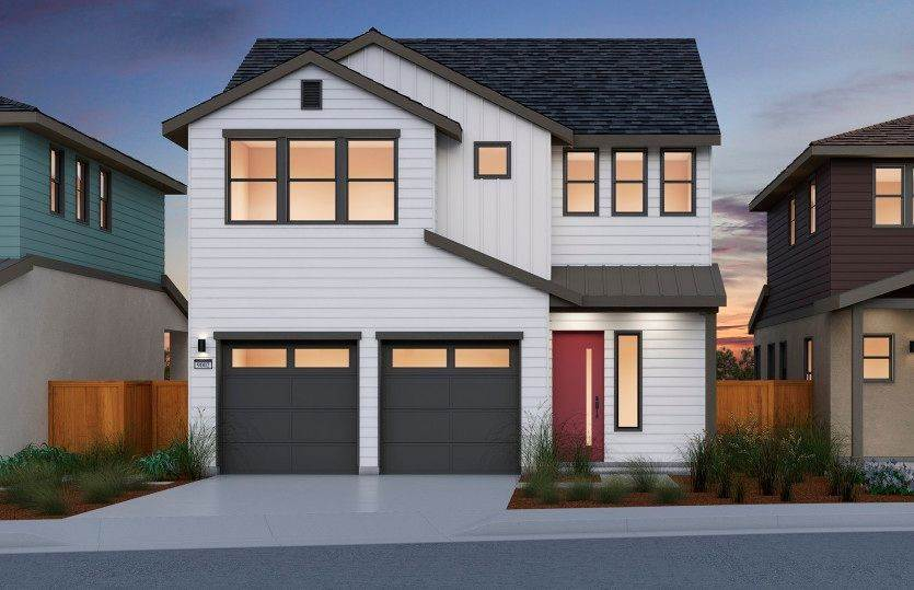 Single Family for Sale at Borelle At One 90 - Plan 2 1 Waters Park Drive SAN MATEO, CALIFORNIA 94403 UNITED STATES