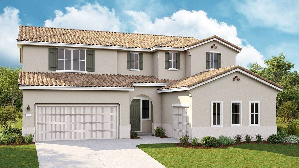 Unifamiliar por un Venta en Valencia At Madeira Meadows - Chandler Plan 9 7534 Allan Detrick Avenue ELK GROVE, CALIFORNIA 95757 UNITED STATES