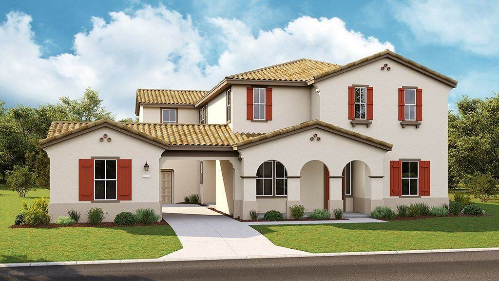 Unifamiliar por un Venta en Valencia At Madeira Meadows - Drake Plan 10 7534 Allan Detrick Avenue ELK GROVE, CALIFORNIA 95757 UNITED STATES